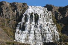 De brede waterval van IJsland Stock Afbeelding