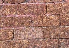 De breedte van de bakstenen muuroppervlakte royalty-vrije stock afbeeldingen