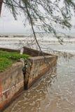 De breuk van de kust Royalty-vrije Stock Afbeeldingen