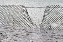 De Breuk van de veiligheid - de Omheining van het Water Royalty-vrije Stock Afbeeldingen