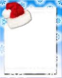De Brief van de kerstman Royalty-vrije Stock Afbeeldingen