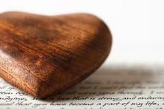 De brief van de liefde Stock Fotografie
