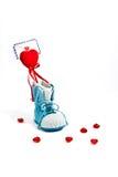 De brief van de liefde Stock Foto