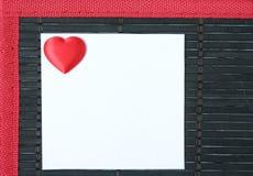 De brief van de liefde Royalty-vrije Stock Foto's