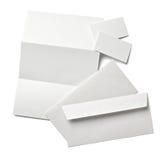 De brief van het pamflet Stock Afbeelding