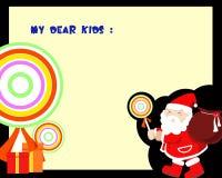 De brief van Kerstmis Stock Foto's