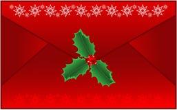 De Brief van Kerstmis Royalty-vrije Stock Afbeeldingen