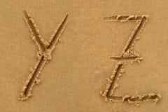 De brieven van het alfabet Royalty-vrije Stock Afbeelding
