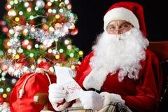 De brieven van Kerstmis stock foto