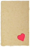De brievenachtergrond van de valentijnskaart Royalty-vrije Stock Afbeeldingen