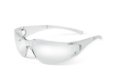 De brilplastiek van de veiligheid Stock Foto's