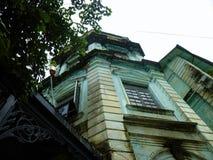 De Britse koloniale bouw in Yangon van de binnenstad, Myanmar (Birma) Stock Afbeeldingen