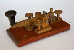 De Britse Sleutel van Morse van het Postkantoor Stock Afbeelding