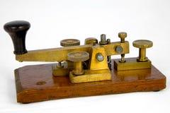 De Britse Sleutel van Morse van het Postkantoor Stock Fotografie