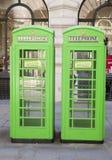 De Britse telefoon gaat in de Stad van Londen, Stock Fotografie