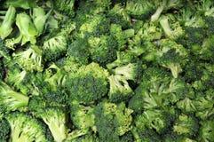 De Broccoli van de besnoeiing royalty-vrije stock afbeeldingen