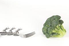 De Broccolivork van legermensen Royalty-vrije Stock Afbeelding