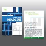 De brochure van de bedrijfs affichevlieger creativiteit abstract a4 document art. royalty-vrije illustratie