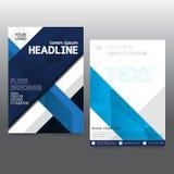De brochure van de bedrijfs affichevlieger creativiteit abstract a4 document art. Stock Afbeelding