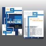 De brochure van de bedrijfs affichevlieger creativiteit abstract a4 document art. Stock Foto's
