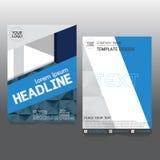 De brochure van de bedrijfs affichevlieger creativiteit abstract a4 document art. Royalty-vrije Stock Afbeelding
