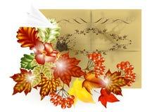 De brochureontwerp van de herfst Royalty-vrije Stock Foto