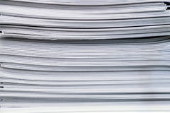 De Brochures van de stapeladministratie Stock Afbeelding