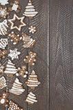 De broden van de Kerstmisgember Stock Afbeelding