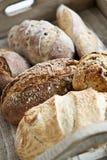 De broden van het brood Stock Afbeeldingen