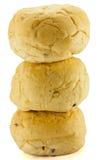 De broden van het broodje Stock Fotografie
