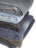 De broeken van het denim Stock Foto