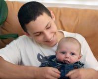 De broer van de baby Royalty-vrije Stock Foto's