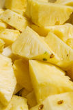 De brokken van de ananas Royalty-vrije Stock Fotografie
