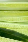 De Brokken van de komkommer Royalty-vrije Stock Foto's
