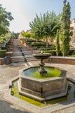 De bron Alcazaba Royalty-vrije Stock Afbeelding