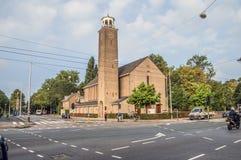 De Bron Church At Amsterdam The Países Bajos 2018 foto de archivo