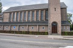 De Bron Church At Amsterdam The Países Bajos 2018 imagenes de archivo