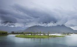 De bron van de Yangtze-Rivier stock foto's
