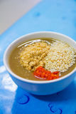 De bron van groenten Stock Foto's