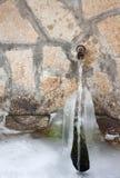 De bron van het bergwater Royalty-vrije Stock Foto