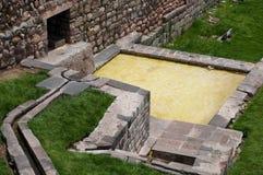 De bron van het water van Coricancha Stock Afbeeldingen