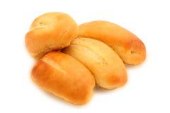 De broodjes van Baguette Stock Foto's