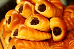De Broodjes van de chocolade royalty-vrije stock foto