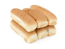 De Broodjes van de hotdog Royalty-vrije Stock Foto's