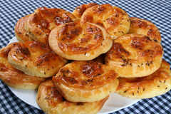 De broodjes van de kaas royalty-vrije stock foto