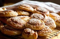 De broodjes van de kaneel Royalty-vrije Stock Fotografie
