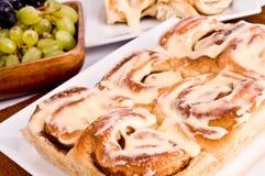 De broodjes van de kaneel Royalty-vrije Stock Afbeeldingen