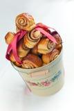 De Broodjes van de kaneel Stock Fotografie