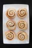 De Broodjes van de kaneel Royalty-vrije Stock Foto's