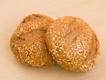 De broodjes van de sesam Stock Fotografie